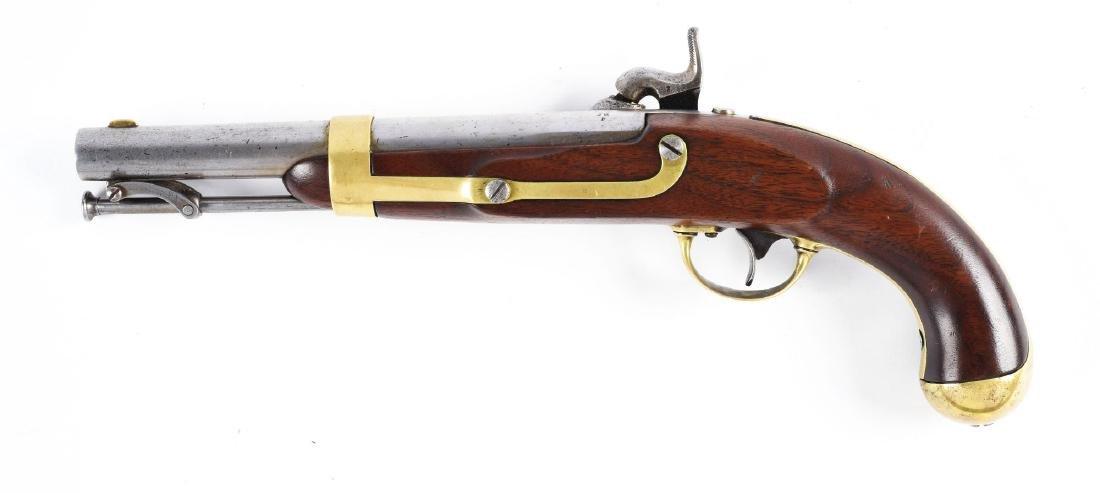 (A) U.S. Model 1842 Percussion Single Shot Martial - 2