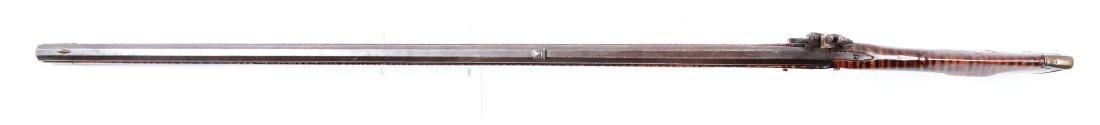 (A) Fine Carved Fullstock Flintlock Kentucky Rifle - 7