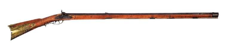 (A) Fullstock Percussion Kentucky Rifle.