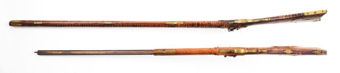 (A) Lot of 2: Percussion Kentucky Long Rifles. - 4
