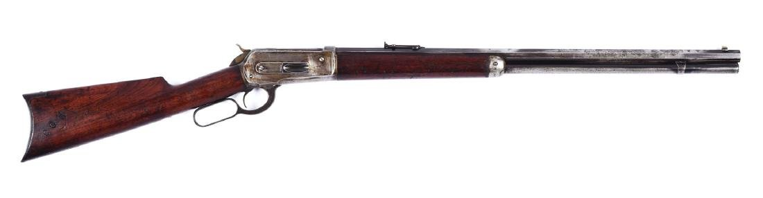 (A) Hawaiian Citizens Guard Winchester Model 1886 Lever