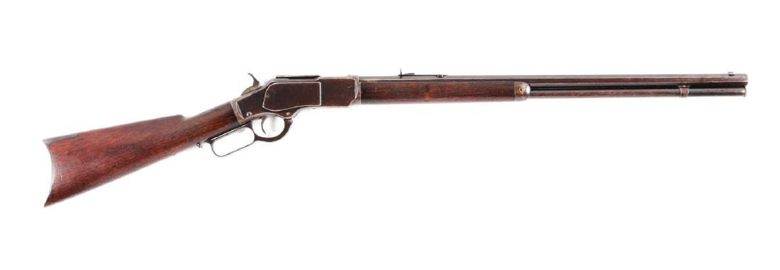(A) Winchester Model 1873 .22 Caliber Lever Action