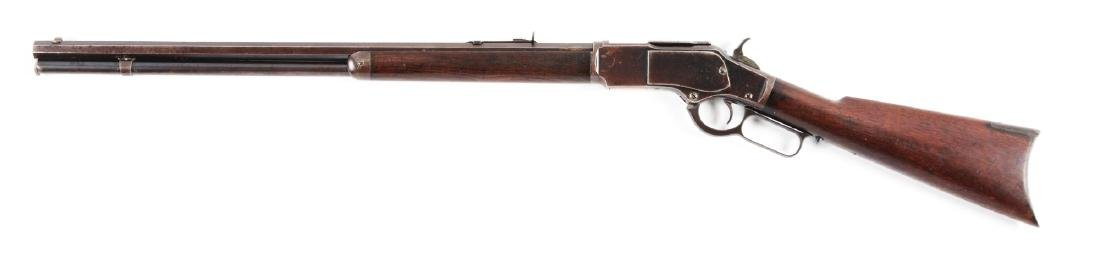 (A) Winchester Model 1873 .22 Caliber Lever Action - 2