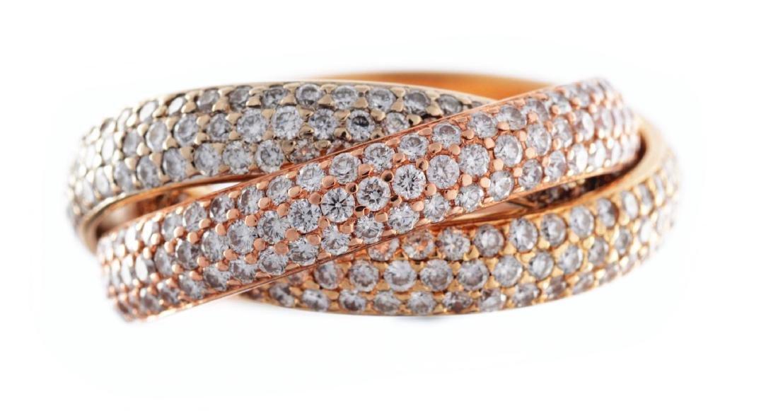 A Trinity De Cartier Ring.