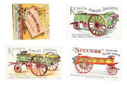 Lot of 12 Farming  Agriculture Trade Cards