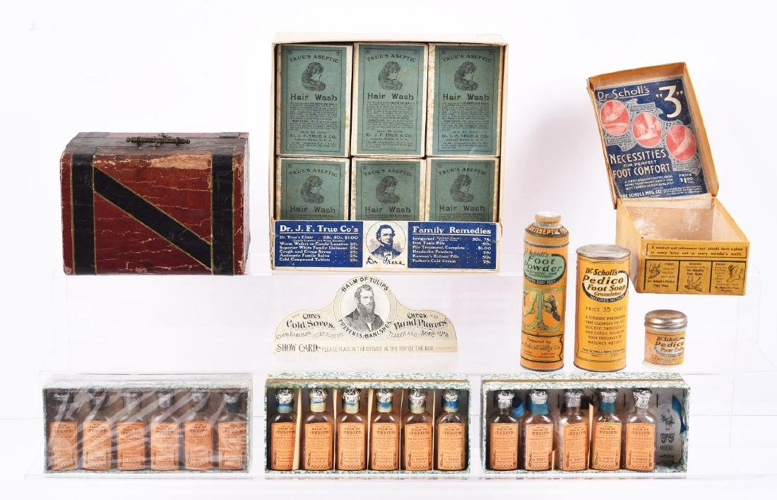 Lot of 6: Boxes of Assorted Remedies.