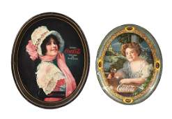 1909  1914 CocaCola Serving Trays