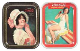 1914  1939 CocaCola Serving Trays
