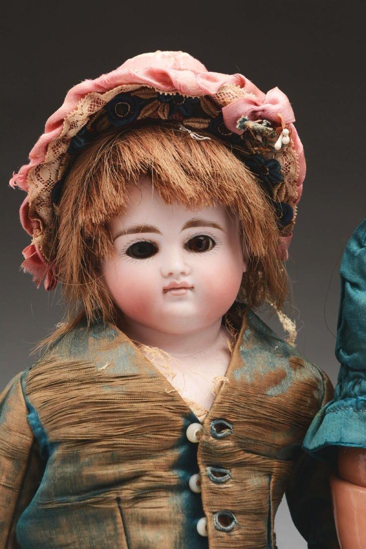 Lot of 2: Closed Mouth Kestner Child Dolls. - 2