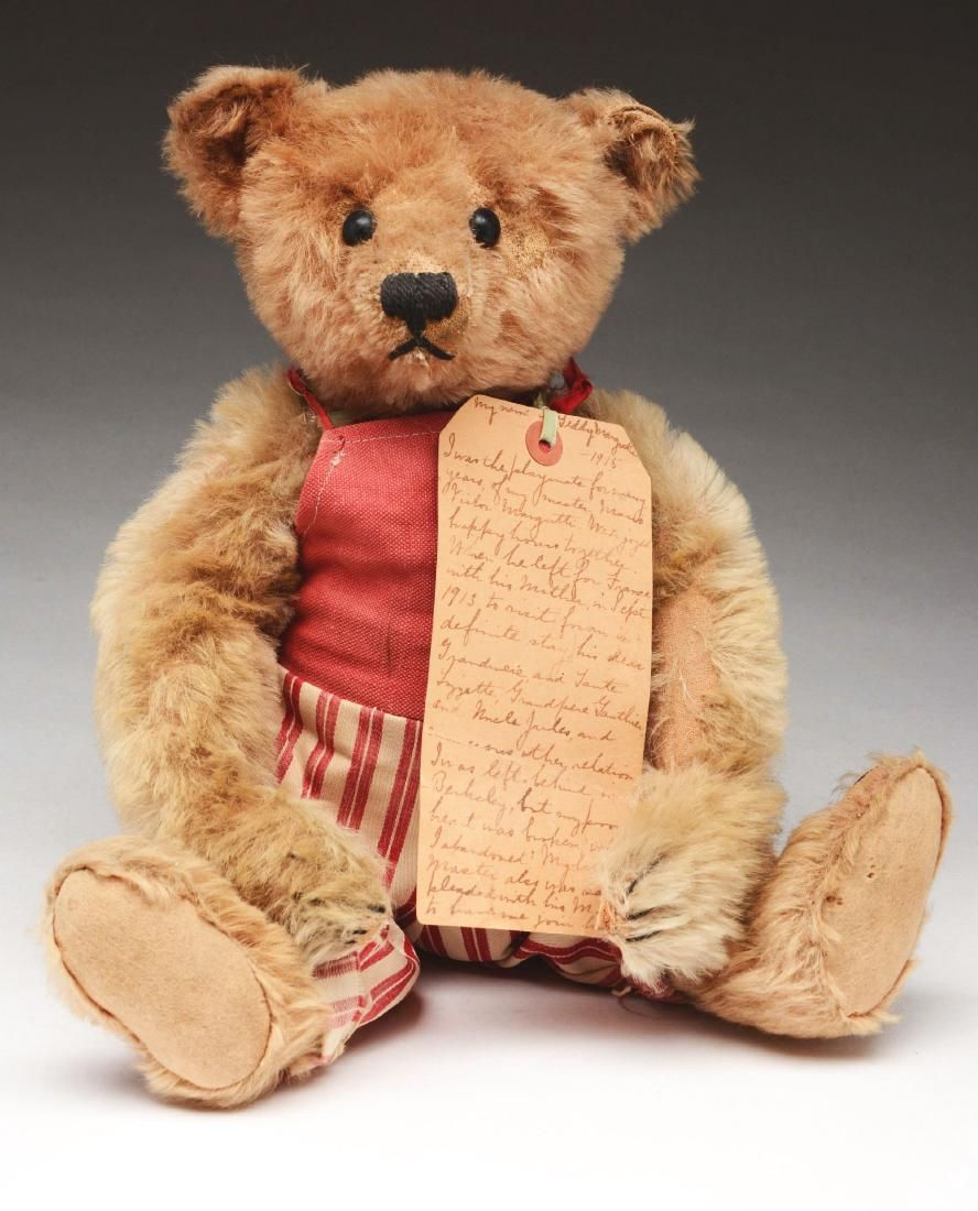 Steiff 1910 Bear with Provenance.