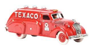 Cast Iron Contemporary Texaco Oil Truck.