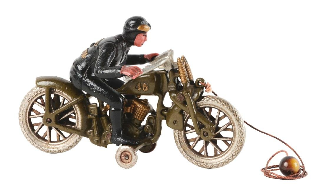Cast Iron Hill Climber Motorcycle.