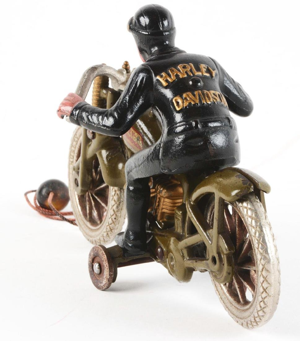 Cast Iron Hill Climber Motorcycle. - 3