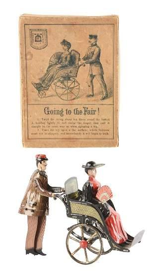 German Lehmann Going To The Fair in Original Box.