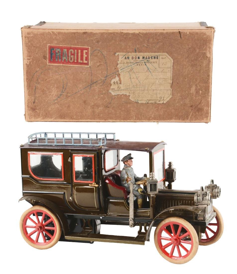 German Hand Painted Carette Limousine in Original Box.