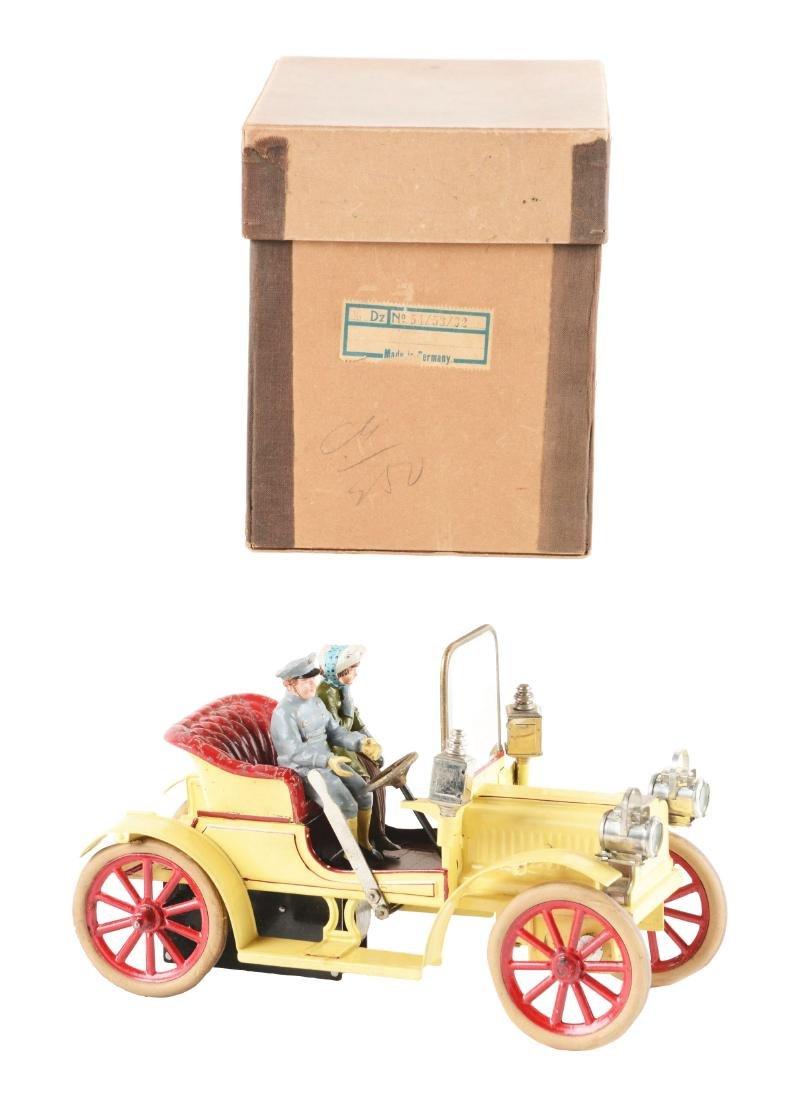 German Carette Hand Painted Auto in Original Box.