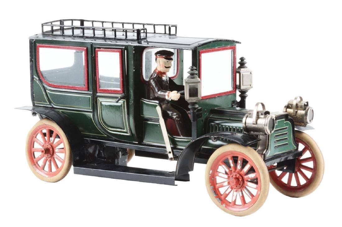 German Carette Tin Litho Wind Up Limousine.