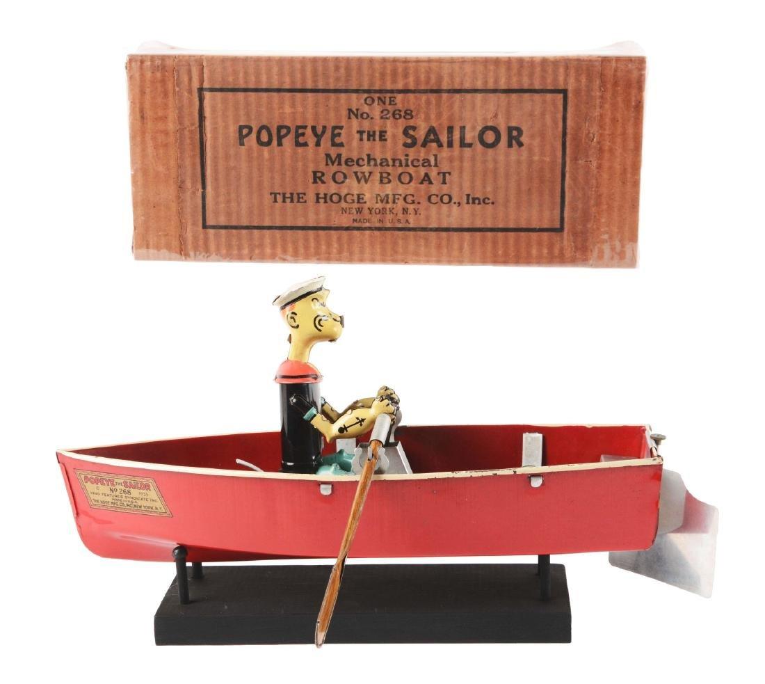 Hoge Popeye Rowboat in Original Box.