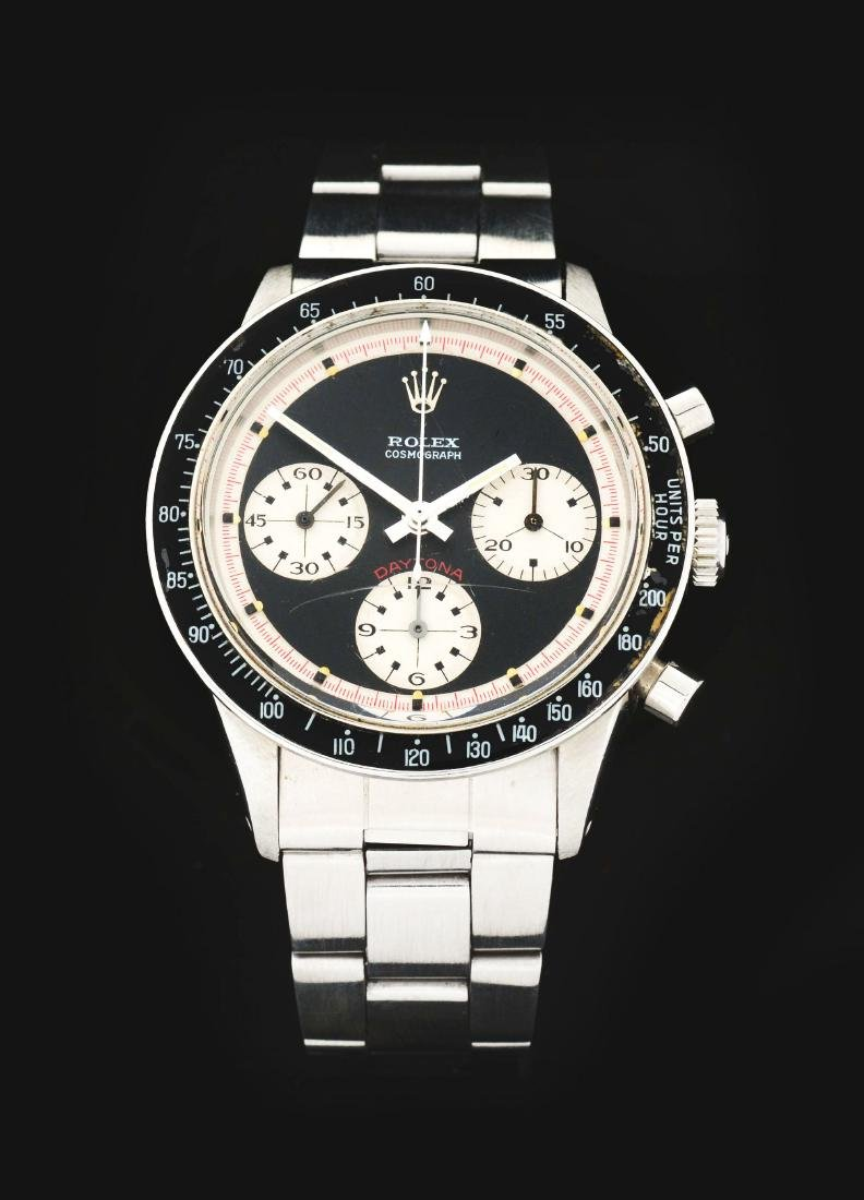 "Extremely Rare Vintage Rolex Stainless Steel ""Paul"