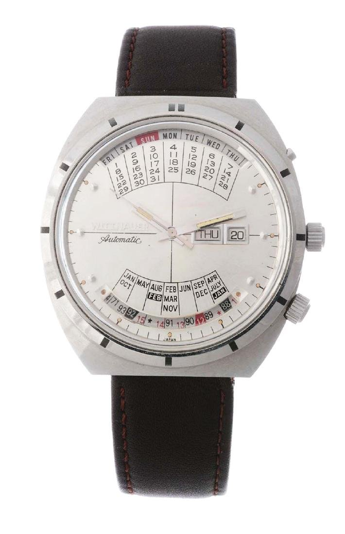 """Vintage Wittnauer Stainless Steel """"2000"""" Automatic"""