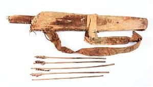 Plains Bow Case & Quiver (Relic).