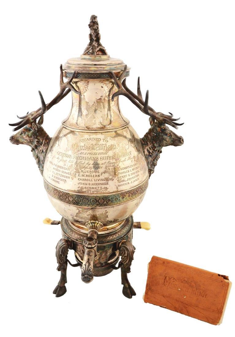 Buffalo Bill Tiffany Trophy.