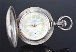 Hamilton For Anna L. Silveira Coin Silver H/C Pocket