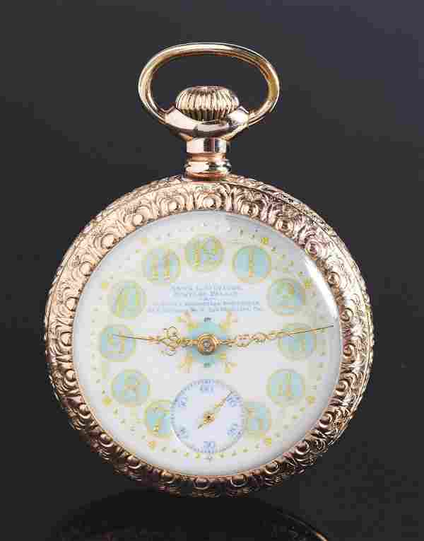 Hamilton For Anna L. Silveira Gold Filled O/F Pocket
