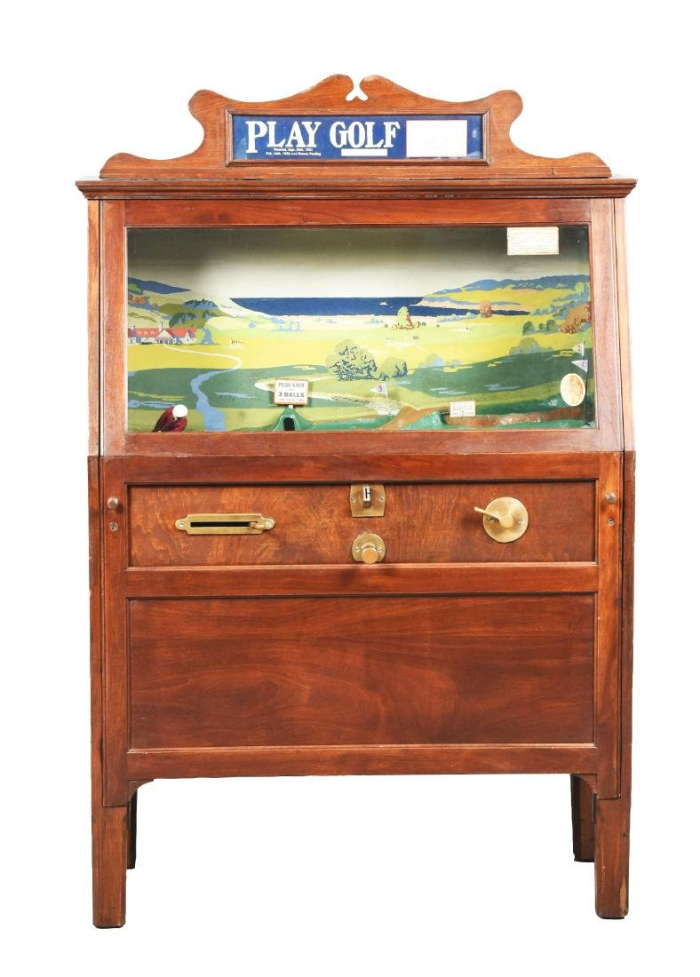 5¢ Chester-Pollard Play Golf Arcade Game.