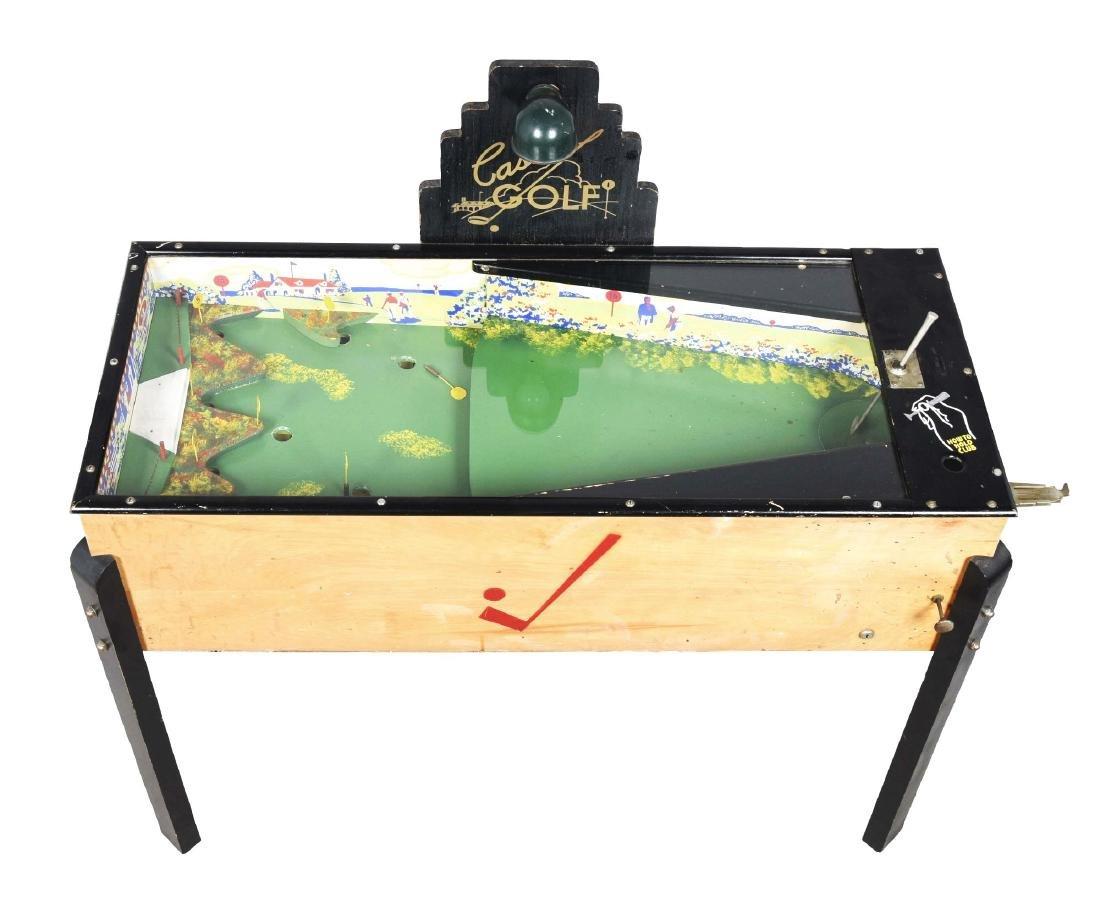 5¢ Casino Golf Arcade Game.