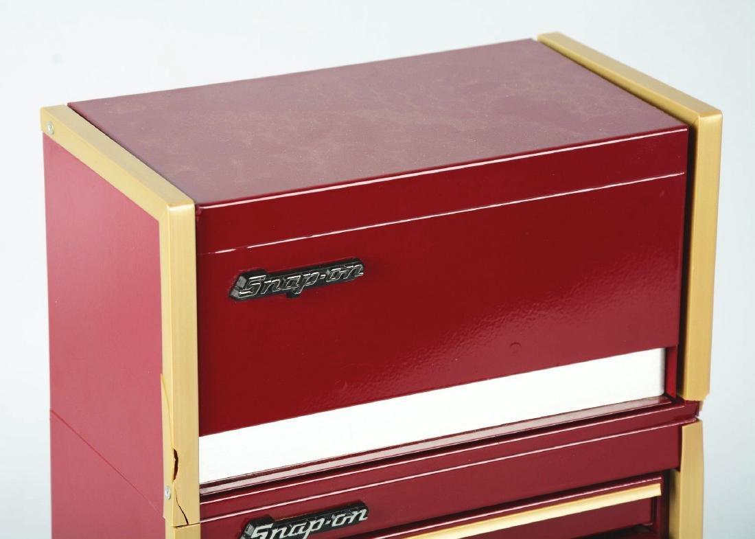 Salesman Sample Snap-On Tool Cabinet. - 2