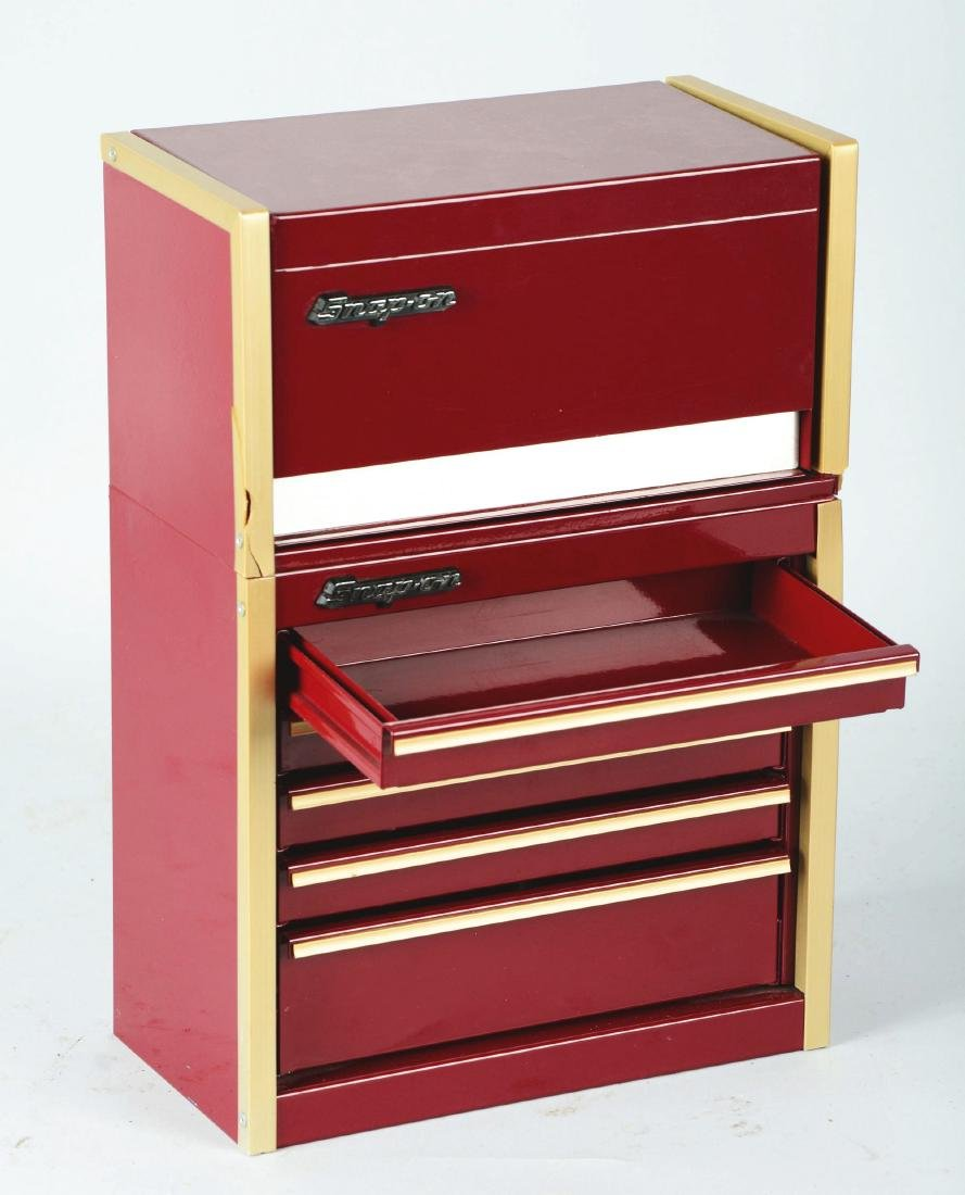Salesman Sample Snap-On Tool Cabinet. - 3