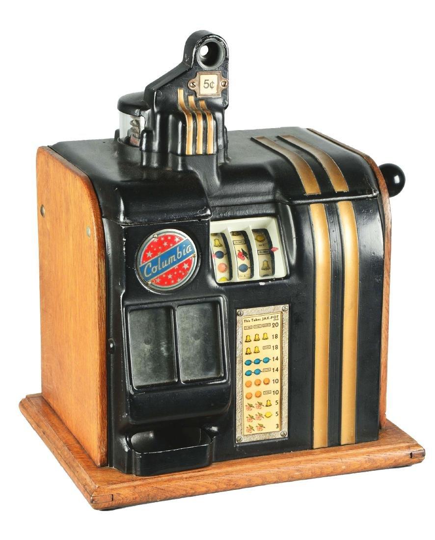 **5¢ Groetchen Tool Columbia Slot Machine.