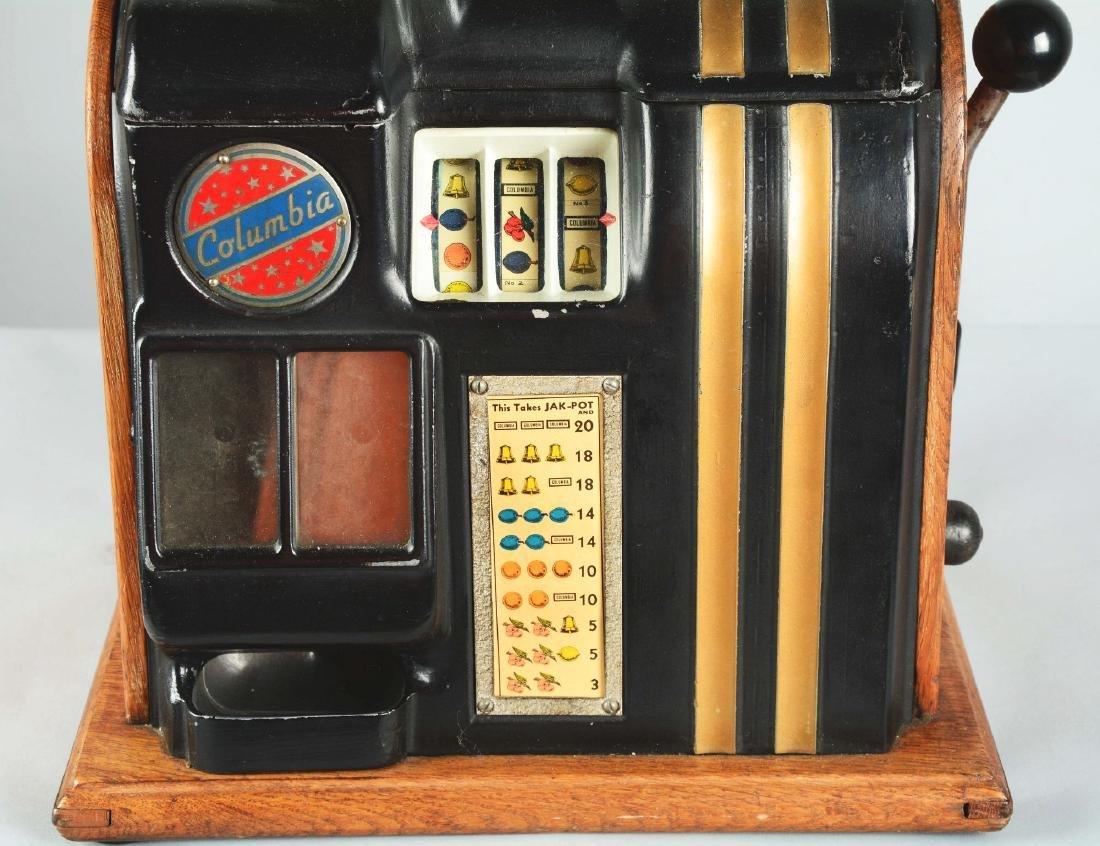 **5¢ Groetchen Tool Columbia Slot Machine. - 2