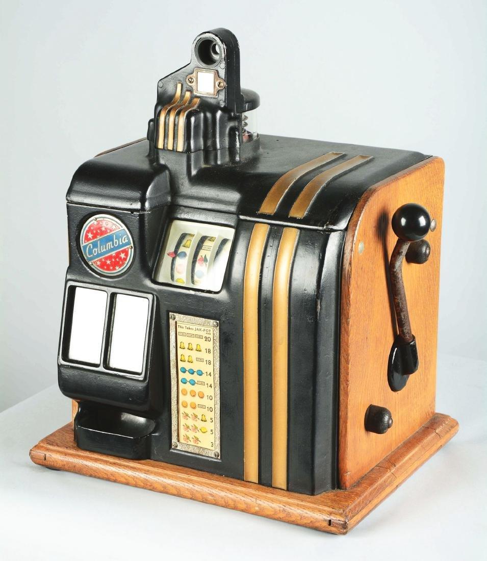 **5¢ Groetchen Tool Columbia Slot Machine. - 5