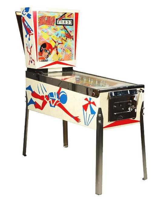 25 Gottlieb Sky Jump Pinball Arcade Game