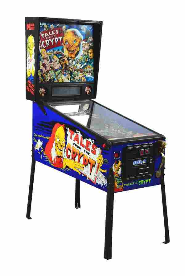 25¢ Data East Terror Tales From The Crypt Pinball