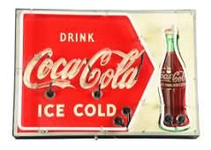 Drink Coca-Cola Neon Sign.