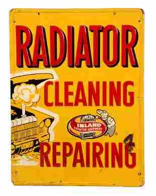 Inland Radiator Equipment Cleaning Repairing Embossed