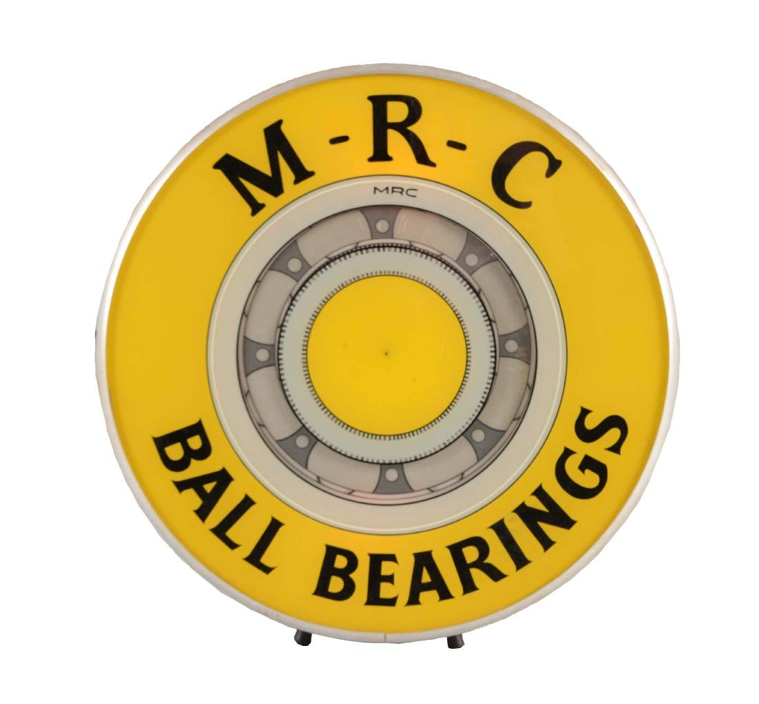 M-R-C Ball Bearings Animated Light Up Store Display.