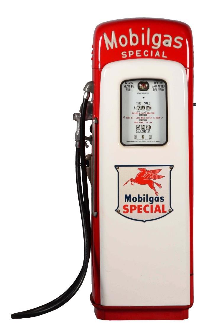 Martin & Schwartz Restored Mobilgas Gas Pump.