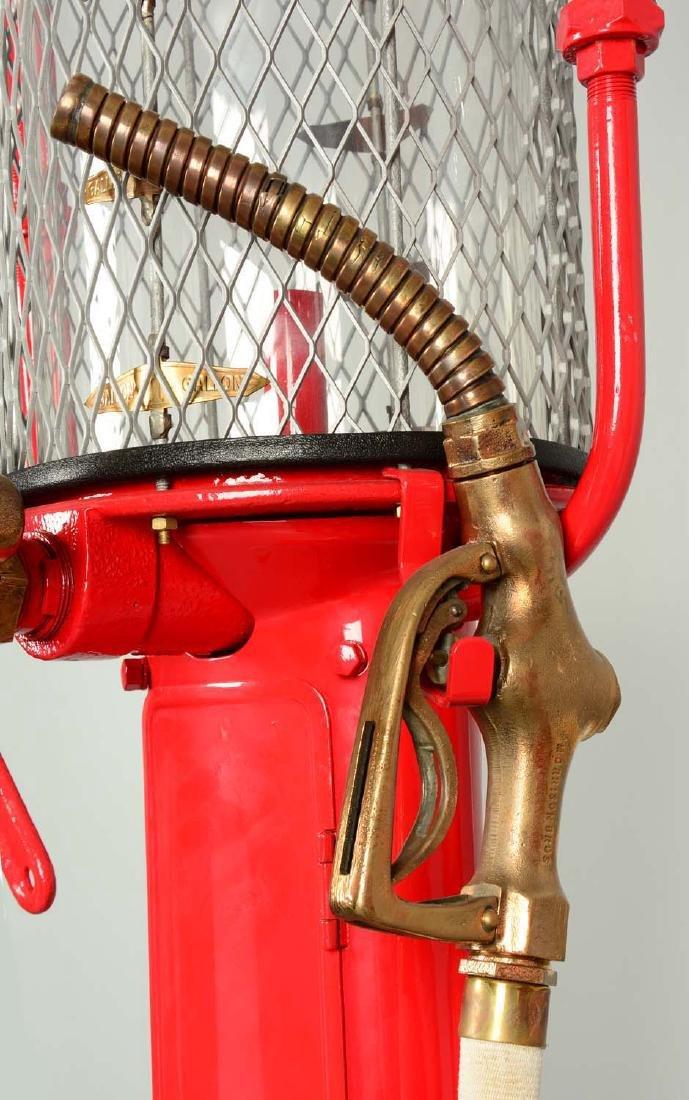 Guarantee Fry Model #17 Five Gallon Visible Gas Pump - - 10