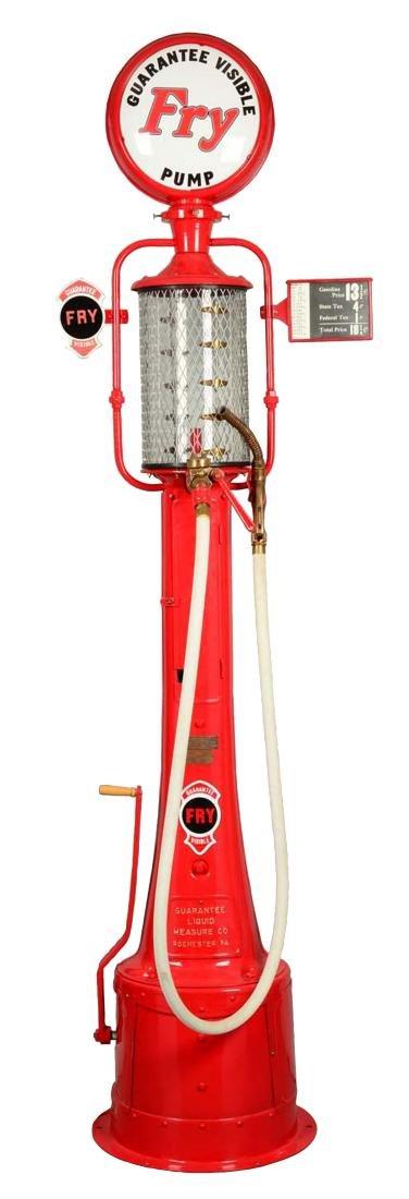 Guarantee Fry Model #17 Five Gallon Visible Gas Pump -