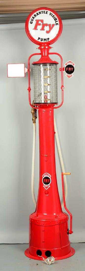 Guarantee Fry Model #17 Five Gallon Visible Gas Pump - - 2