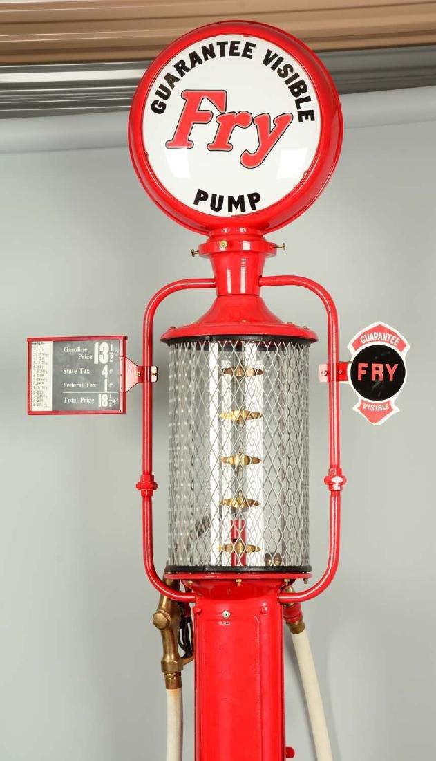 Guarantee Fry Model #17 Five Gallon Visible Gas Pump - - 4