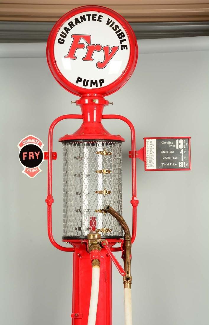 Guarantee Fry Model #17 Five Gallon Visible Gas Pump - - 6