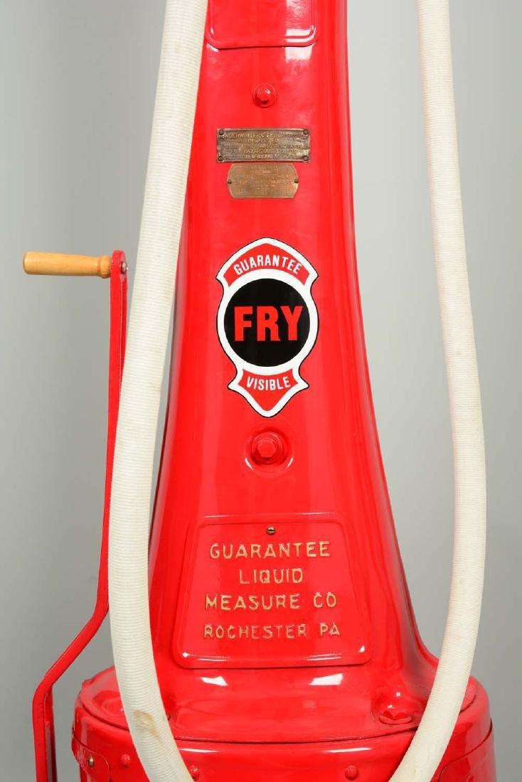Guarantee Fry Model #17 Five Gallon Visible Gas Pump - - 7