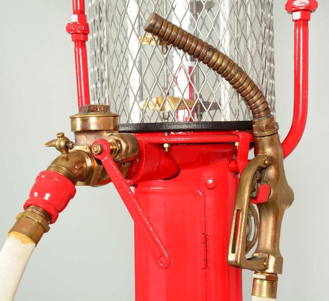 Guarantee Fry Model #17 Five Gallon Visible Gas Pump - - 9