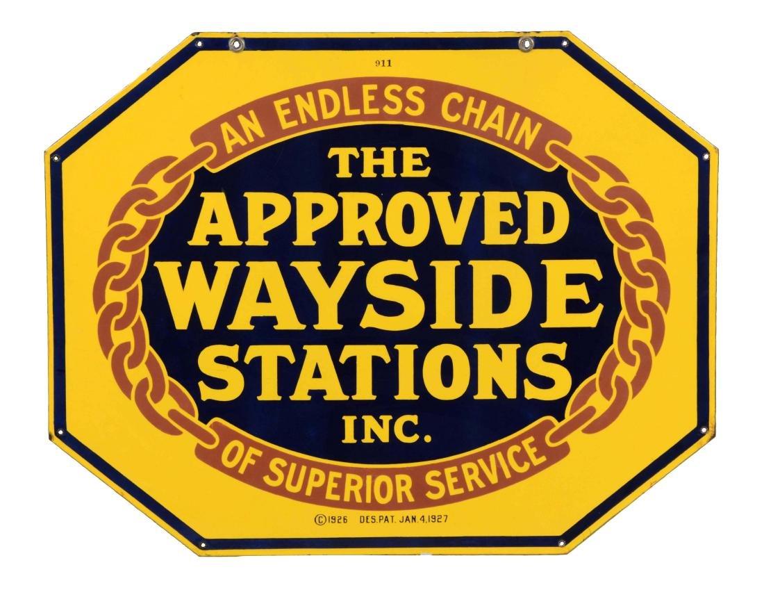 Approved Wayside Station Porcelain Service Station