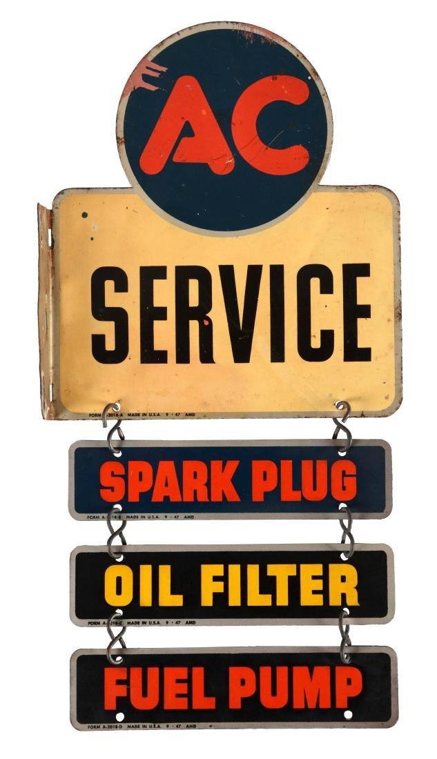 AC Spark Plug, Oil Filter & Fuel Pump Service Tin